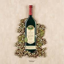 Wine Kitchen Decor Sets by Wine Bottle Wall Plaque