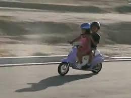 Kaylas Ride 350W Razor Pocket Mod Betty Scooter 20MPH