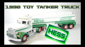 100 Hess Toy Trucks 1990 Tanker Truck Video Review YouTube