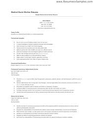 Social Work Curriculum Vitae Exle Best Worker Resume