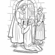 1000 Images About NT Jesus Heals The Coloring Page For Blind Man