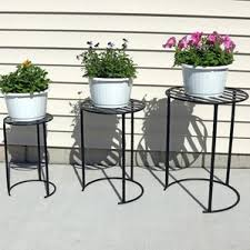 Patio Plant Stands Wheels by Outdoor Plant Stands U0026 Holders You U0027ll Love Wayfair