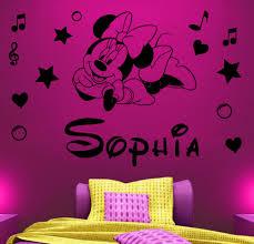 Mickey And Minnie Mouse Bathroom Ideas by The Feminine Sense Of The Minnie Mouse Wall Décor Fleurdujourla