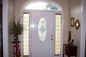 sidelight window treatments on the main entry doors homesfeed