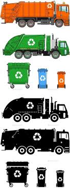 100 Different Trucks Garbage And Types Of Dumpsters By YustusAlex