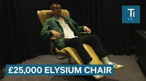 Gravity Balans Chair Cena by Testing The 25 000 Elysium Chair Which Simulates Weightlessness