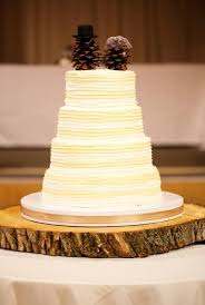 Pine Cone Rustic Wedding Cake Topper Ideas For Brides Grooms
