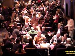 Long View Of The Maryland Live Casino Poker Room Facial Images Have Been Blurred By