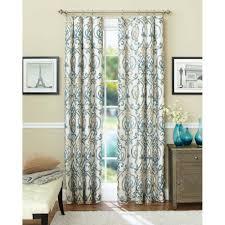 Kmart Sheer Curtain Panels by Ergonomic Patterned Curtain Panels 130 Green Patterned Curtain