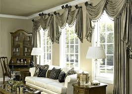 Elegant Drapes Fabric Blackout Curtains For Living Room
