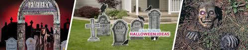 Halloween Graveyard Fence Prop by Graveyard U0026 Tombstones Decor Shindigz
