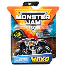 100 Max D Monster Truck Jam Official IeCast Vehicle Legacy
