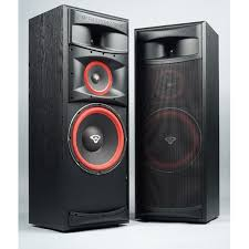 cerwin vega xls 12 12 inch 3 way floorstanding tower speaker