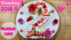 Letter Cake With Raspberry Cream Recipe Easy Peasy Foodblogger
