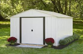 10x12 Shed Material List by Amazon Com Arrow Shed Ar1012 Arlington 10 Feet By 12 Feet Steel