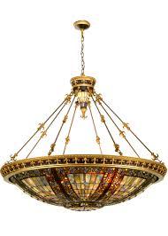 Antique Light Fixtures Vintage Golden