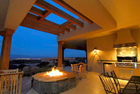 Spice Up Your Las Cruces New Mexico Custom Home with Outdoor Fire