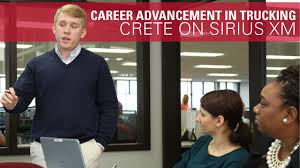 Career Advancement In Trucking - Crete On SiriusXM - YouTube Mega Carrier Increases Maximum Speed For Company Drivers Blog Trucking News Cdl Info Progressive Truck School Leading Csa Scores In Industry Crete Youtube Corp Shaffer Lincoln Ne The Driver Shortage 2017 Preview On Siriusxm Careers Hirsbach Schneider Driving Jobs Home Facebook End Of Year Update A Career As Unique You Flatbed Employment Otr Pro Trucker National Appreciation Week