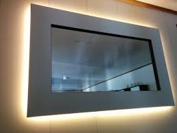 holzwerkerblog wohnzimmer spiegel beleuchteter