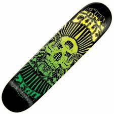 zero skateboards zero chris cole death trip poster deck 7 75