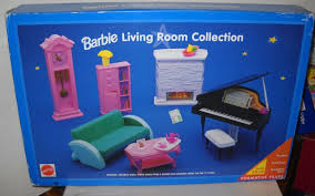 Barbie Living Room Playset by 7604 Rare Nrfb Target Blue Box Barbie Living Room Collection