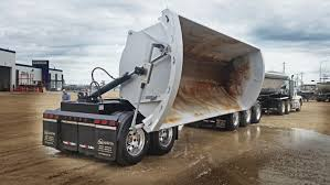 100 Side Dump Truck Centerline Super B Trailer Trailers