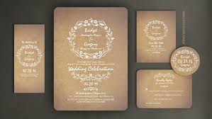 Read More FLORAL CUTE WEDDING INVITATION WITH MODERN YET VINTAGE