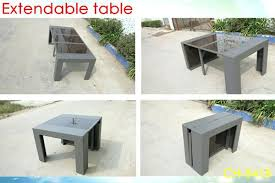 New Extendable Patio Table More Views Cast Aluminum Outdoor