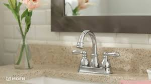 Moen Caldwell Faucet Instructions by Caldwell Centerset Bathroom Faucet Moen Features Spotlight