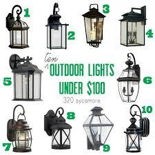 best 25 outdoor garage lights ideas on exterior