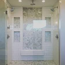 Teal Bathroom Tile Ideas by Best 25 Master Shower Tile Ideas On Pinterest Master Shower