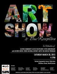 Art Show Ecat Shovel Town Easton
