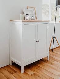 expendio kommode oslo 1 weiß 80x90x40 cm sideboard anrichte