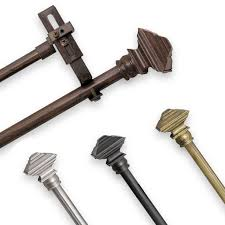 144 To 240 Inch Adjustable Curtain Rod by Best 25 Double Curtain Rod Set Ideas On Pinterest Double