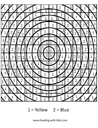Fascinating Hard Color By Numbers Number Coloring Pages Free Printable Really Amazing