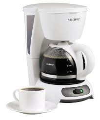 Amazon Mr Coffee 4 Cup Switch Maker White Drip Coffeemakers Kitchen Dining