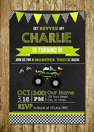 GREEN YELLOW MONSTER Truck Printed Chalkboard Birthday Invitations ... Birthday Cards Boys Monster Trucks Truck Nestling Party Invitations Invitation Examples Truck Racing Car 2 3 Etsy 13 Best Jam Inspirational Amazon Lovely Cyclops 19 Mormotanet Pink Svg File With Hearts To Make Shirts Invitations Invite Naptime Serenity Invites Unique Of Blaze And The Templates Free Printable Free
