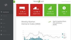 100 Truck Stop Loads Stopcom Unveils Reinvented Weekly Trans4Cast Report On Rates
