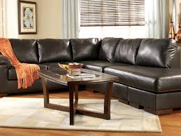 Brown Couch Living Room by Sofa 17 Living Room L Shaped Dark Brown Leather Sofa With