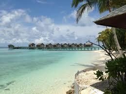 chambre sur pilotis maldives vue sur les chambres pilotis picture of centara ras fushi resort