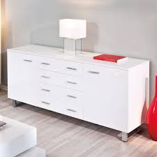 Arielle Buffet Sideboard In High Gloss White Sideboards Dining Room Furniture On