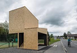 100 Rintala Eggertsson Architects Gallery Of Bus Stop Kressbad 1