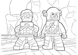 Related Coloring Pages The Flash Characters Lego