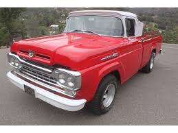 1960 Ford F100 For Sale | ClassicCars.com | CC-987052 Vannatta Big Trucks Gmc Jeep History In The 1960s Autolirate 1960 Intertional Harvester B100 Ad White Heavy Duty Compact Ted Giavis Original Mercedesbenz Shortbonnet Trucks Wikipedia Chevrolet Ck Truck For Sale Near Cadillac Michigan 49601 Dodge D100 Hot Rod Network For Its Owner Studebaker Truck Is A True Champ Old Cars Weekly Mack B Model Tandem Axle Daycab For Sale 577113 Kick Back Cruisin Street Vintage Chev 0910cct Chevy Pickup Rear Bumper