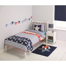 Little Home At John Lewis Stars Stripes Duvet Cover And Pillowcase Set Single