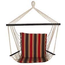 Brazilian Padded Hammock Chair by Cacoon Hammock Black Cacoon World Hammock Town