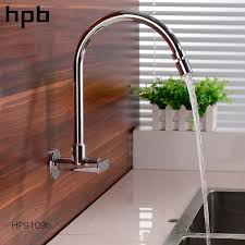 Wall Mounted Kitchen Faucet Single Handle by Hpb Kitchen Faucet Mixer Tap Sink Mixer Tap Kitchen Faucets Wall