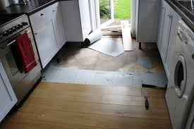 progress report laying slate tiles with underfloor heating