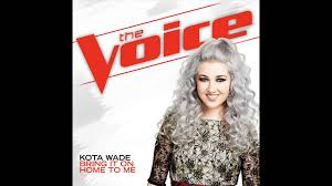 Kota Wade Bring It Home To Me Studio Version The Voice 9