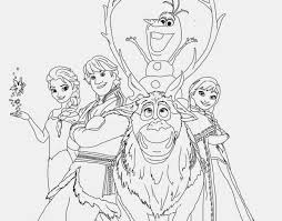 Frozen Sven Coloring Pages Disney All Characters Online For Kids Medium Size